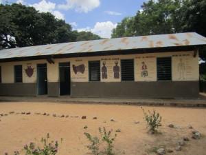 Bulunde skolbyggnad